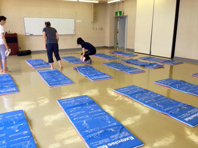 Yoga Studio H&B 大利根保健センターへ