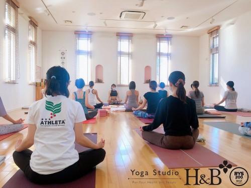 埼玉羽生市のヨガ教室H&B
